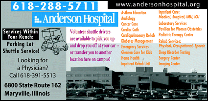 anderson hospital  anderson hospital  2928 north center street maryville  il