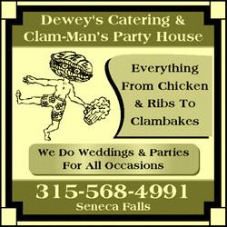 Directory Ad for Deweys 3rd Ward Tavern