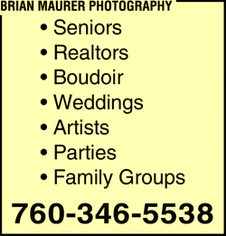 Directory Ad for Brian Maurer Photography