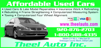 Directory Ad for Theel Auto Inc