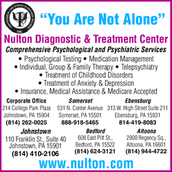 Directory Ad for Nulton Diagnostic &amp; Treatment Center