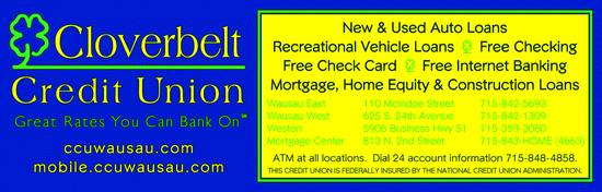 Directory Ad for Cloverbelt Credit Union