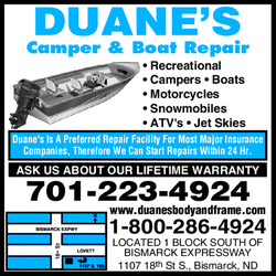 Directory Ad for Duane&#39;s Body &amp; Frame Shop