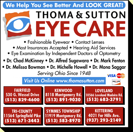 Eyeglass Frame Repair Cleveland Oh : Thoma & Sutton Eye Care, Fairfield, OH 45014 - Yellowbook