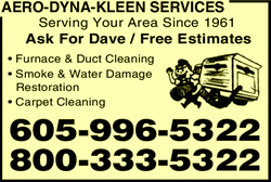 Menu for Aero Dyna Kleen Services