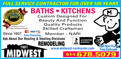 Menu for Midwest Remodeling