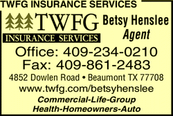 Menu for Twfg Insurance Services