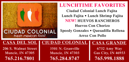 Menu for Ciudad Colonial