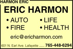 Menu for Harmon Eric Insurance Agency
