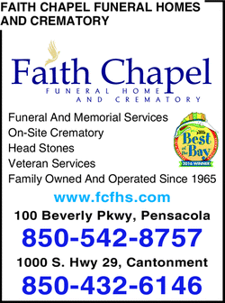 Menu for Faith Chapel Funeral Homes And Crematory