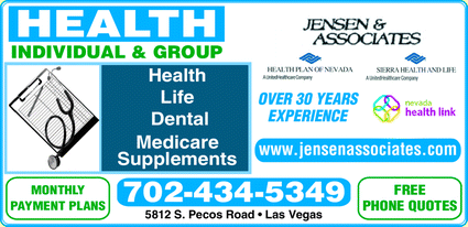 Menu for Jensen & Associates