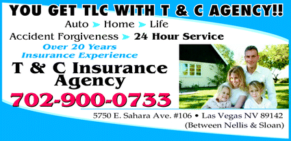 Menu for T & C INSURANCE AGENCY