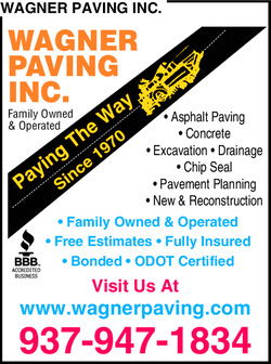Menu for Wagner Paving Inc