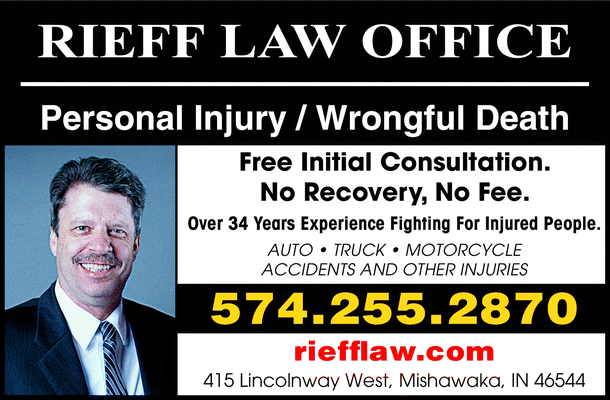 Menu for Rieff Law Office