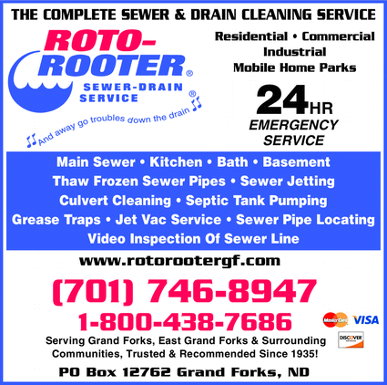 Menu for Roto-Rooter Sewer & Drain Service
