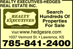 Menu for Realty Executives-Hedges Real Estate Inc