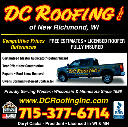 Menu for D C Roofing Inc.